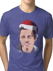 Merry Christmas - JD Tri-blend T-Shirt