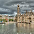 CITY PARK BRADFORD WEST YORKSHIRE by Matthew Burniston