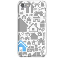 House a background iPhone Case/Skin