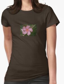 Pink Oleander Close Up Life Is Full of Surprises Greeting  T-Shirt