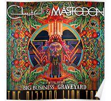 MASTODON MISSING LINK TOUR Poster