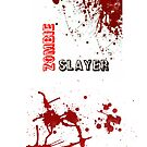 &quot;Zombie Slayer&quot; iPhone/iPod Case by SumnerLee