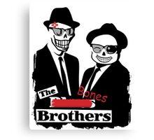 Sans & Papyrus - The Bones Brothers Canvas Print