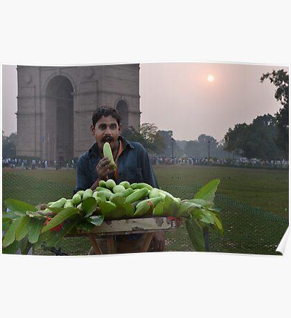 Fruit Seller Poster