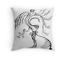 Nature Boy Throw Pillow