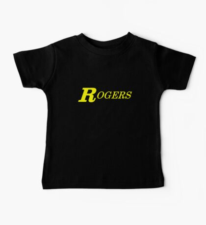 Rogers Drums Yellow Baby Tee