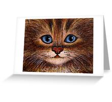 Tabby Greeting Card