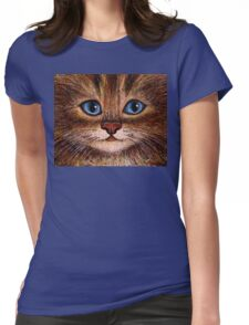 Tabby Womens Fitted T-Shirt