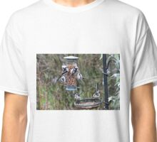 An influx of long tailed tits Classic T-Shirt