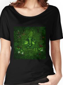 THE GREEN MAN Women's Relaxed Fit T-Shirt