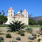 Santa Barbara Mission 2 by Travel-Hop