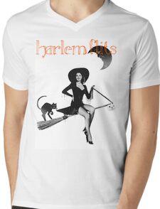 Harlem Flits Sexy Witch Mens V-Neck T-Shirt