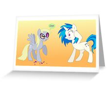 Who Gave Derpy the Shades? Greeting Card