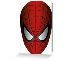 Vector SpiderMan Greeting Card