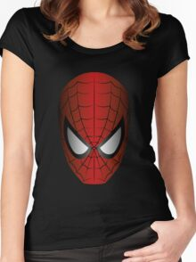 Vector SpiderMan Women's Fitted Scoop T-Shirt