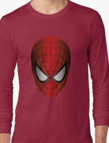 Vector SpiderMan Long Sleeve T-Shirt