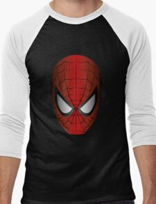 Vector SpiderMan Men's Baseball ¾ T-Shirt