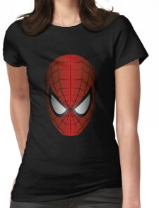 Vector SpiderMan Womens Fitted T-Shirt