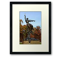 Gettysburg National Park - Louisiana Memorial Framed Print