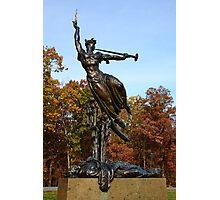 Gettysburg National Park - Louisiana Memorial Photographic Print