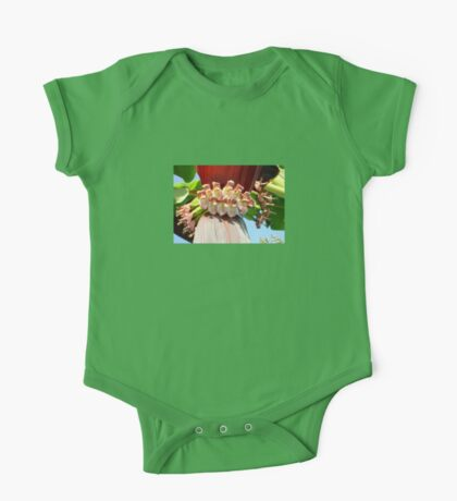 Flower Of The Banana Plant One Piece - Short Sleeve