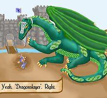Marla's Dragon by Marc Grossberg
