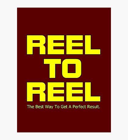 Reel To Reel Photographic Print