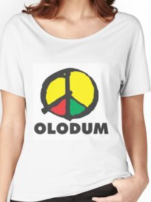Olodum Cultural Group Logo Women's Relaxed Fit T-Shirt