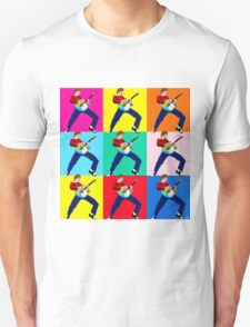 PAUL WELLER THE JAM WITH WHAM GUITAR T-Shirt