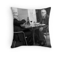 Bottle of Red Throw Pillow