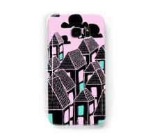 Pink city print Samsung Galaxy Case/Skin