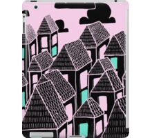 Pink city print iPad Case/Skin