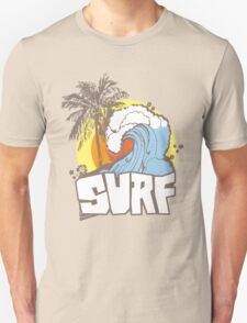 Retro Surf T-Shirt Design T-Shirt