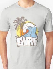 Retro Surf T-Shirt Design T-Shirt