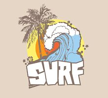 Retro Surf T-Shirt Design Unisex T-Shirt