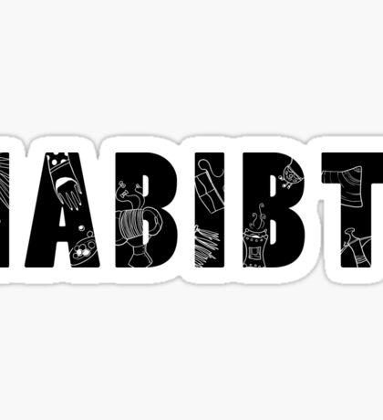 Habibti Sticker