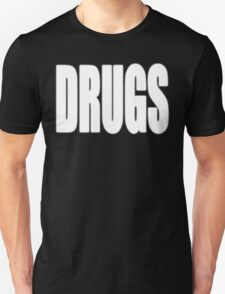 White DRUGS T-Shirt