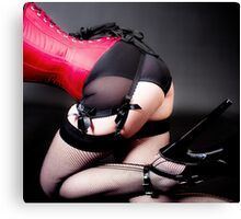 Pleaser Canvas Print