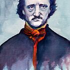 Edgar Allan Poe by Joe Humphrey