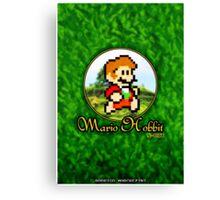 Mario Hobbit (Print Version) Canvas Print
