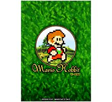 Mario Hobbit (Print Version) Photographic Print