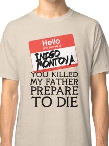 Inigo's Name Tag Classic T-Shirt