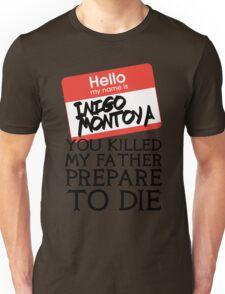 Inigo's Name Tag Unisex T-Shirt