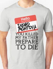 Inigo's Name Tag T-Shirt
