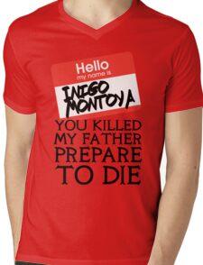 Inigo's Name Tag Mens V-Neck T-Shirt