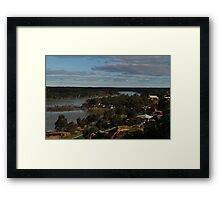 The Mighty Murray Framed Print