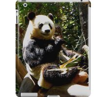 Hungry Panda Bear iPad Case/Skin