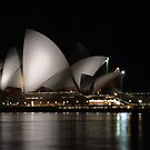 Sails at Night by rflower