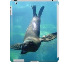 Sea Lion Diving iPad Case/Skin