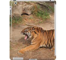 Tired Tiger iPad Case/Skin